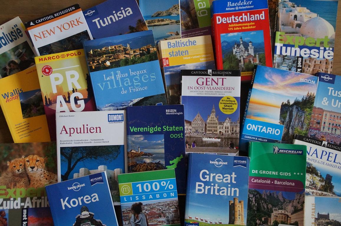 Reiseführer - Literatur zum Vorbereiten